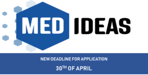 MED-IDEAS new deadline for application submission: 30th of April